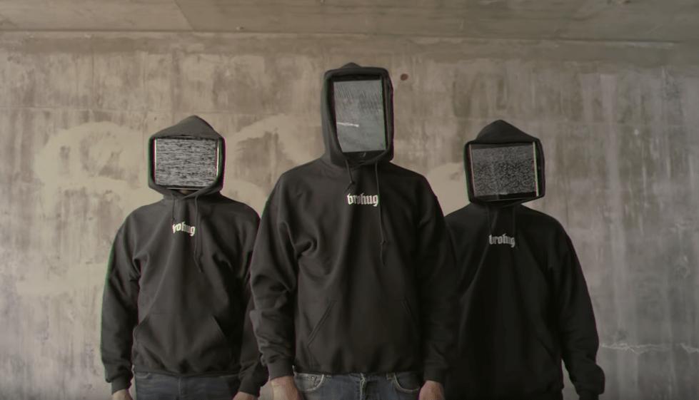 Скрытые лица экранами