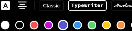 Выбираем цвет и шрифт