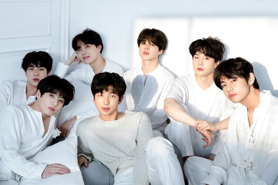 BTS из южной кореи